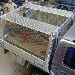 Toyota Hilux Rear Custom Tray Fit Out