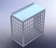 Security Cages / Air Conditioning Cages