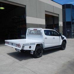 Holden Colorado Dual Cab Steel Tray