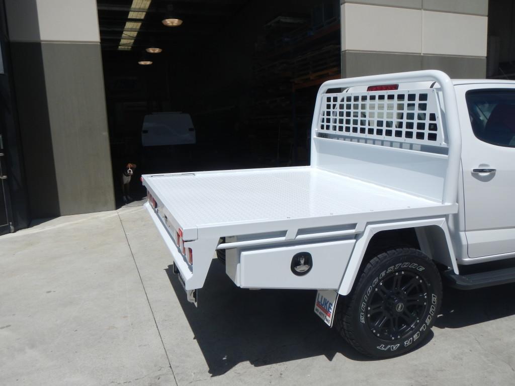 Holden Colorado Dual Cab Steel Tray Luke Bodyworks