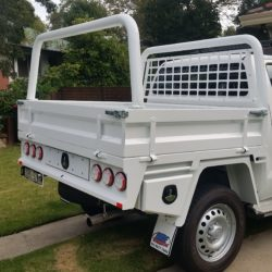 2015 Toyota Hilux Duel Cab White – Short Tray