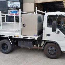 Isuzu Tipper Tray body and Tool boxes