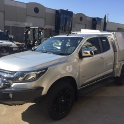 Holden Colorado Space Cab Tray and Toolboxes