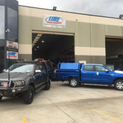 Twin Ford Ranger Dual Cab Steel Trays