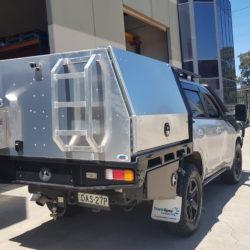 Landcruiser 200 Series Dual Cab Canopy