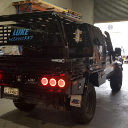 Offroad Adventure Show Landcruiser Tray and Toolboxes