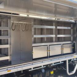Isuzu Truck Custom Toolboxes and 24V Power