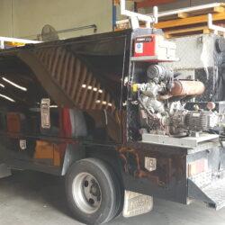 Isuzu Truck Toolbox Smash Repair