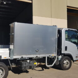 Isuzu Truck Toolbox with Removable Shelves