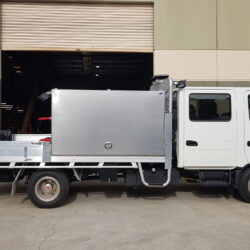 Hino Dualcab Toolboxes and Extras