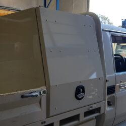 79 Series Landcruiser Half Canopy